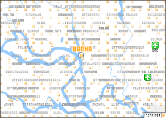 map of Bārha