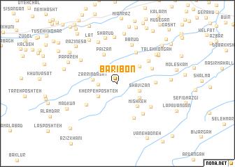 map of Barī Bon