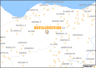 map of Barigua Arriba