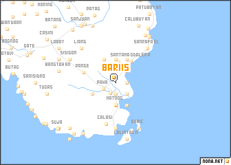 map of Bariis