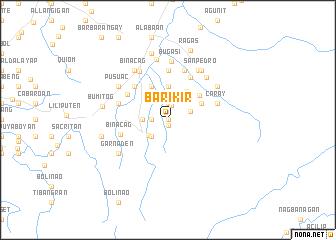 map of Barikir
