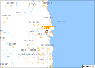 map of Baring