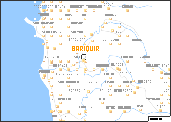 map of Bariquir