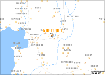 map of Baritaan