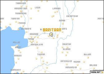 map of Baritaan
