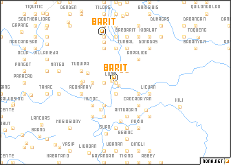map of Barit