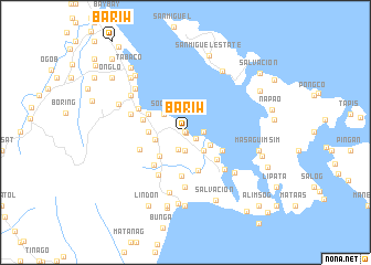 map of Bariw