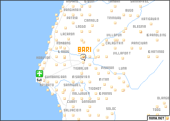 Bari Philippines Map Nonanet - Bari map