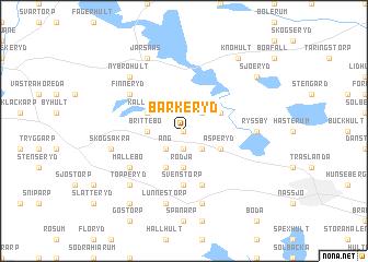 map of Barkeryd
