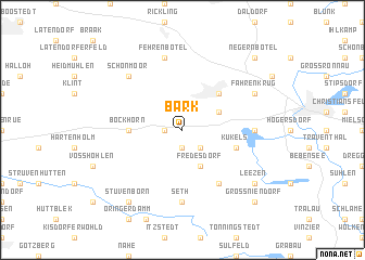 map of Bark