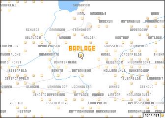 map of Barlage