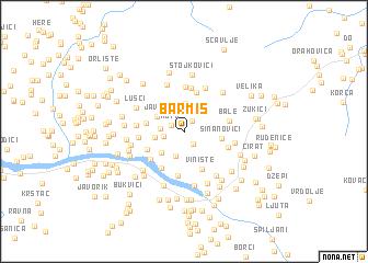 map of Barmiš