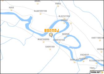 map of Barnaj