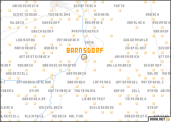 map of Barnsdorf