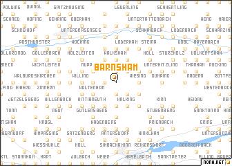 map of Bärnsham
