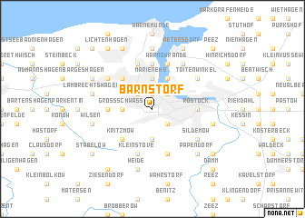 map of Barnstorf