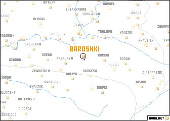 map of Barōshkī