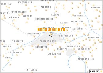 Barquisimeto Venezuela map nonanet