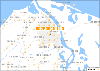 Barranquilla Colombia Map Nona Net