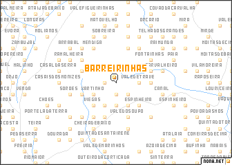 map of Barreirinhas