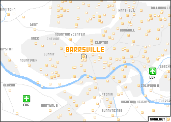 map of Barrsville