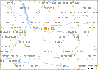 map of Barsikow