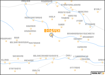 map of Barsuki