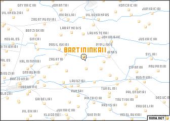 map of Bartininkai I