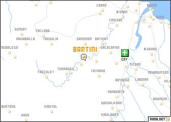 map of Bartini