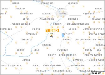 map of Bartki
