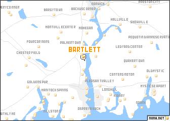 map of Bartlett