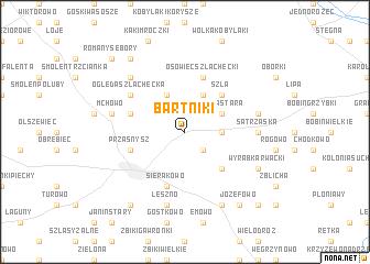 map of Bartniki