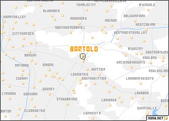 map of Bartolo