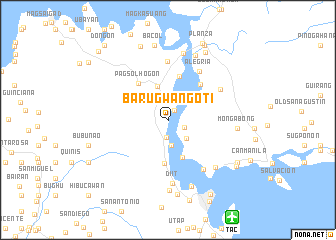 map of Barugwan Goti