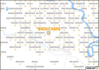 map of Baruichāra
