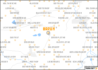 map of Barum