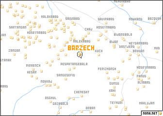 map of Barzech