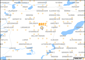 map of Barz