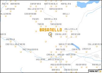 map of Basanello