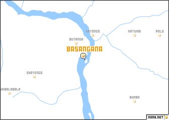 map of Basangana