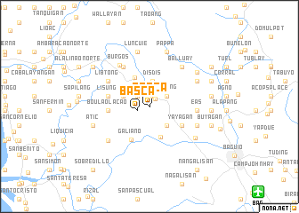 map of Basca