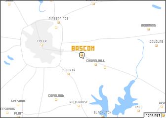map of Bascom