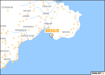 map of Basdio
