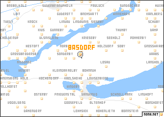 map of Basdorf