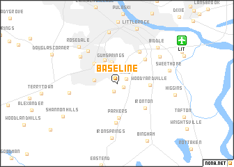 map of Base Line