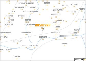 map of Bashīyah