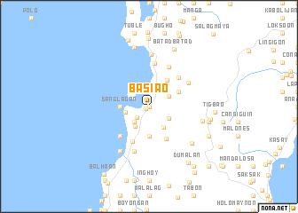map of Basiao