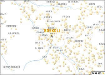 map of Baškali
