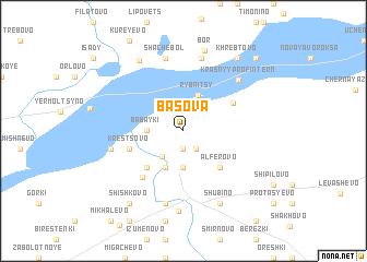 map of Basova