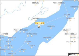 map of basra